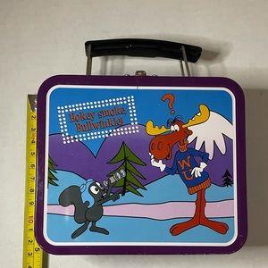 Vintage Adventures of Rocky n Bullwinkle lunchbox